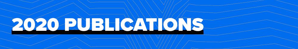 2020 Publications
