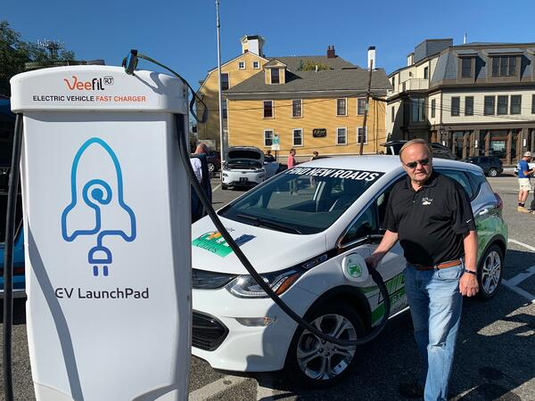 Ron at Portsmouth Electric Car Show!