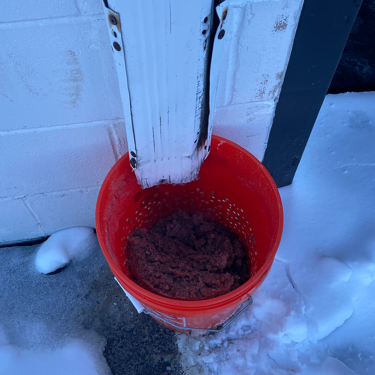 runoff bucket