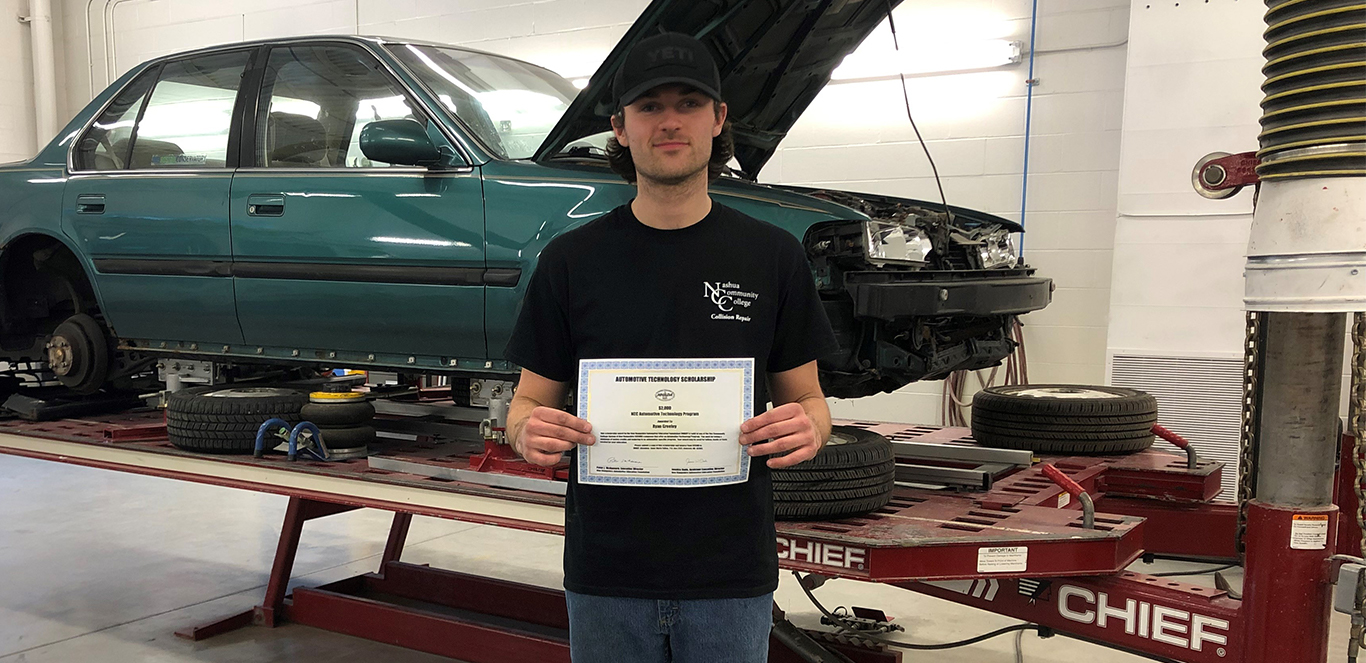 Ryan Greeley, NCC Student Receives $2,000 Scholarship